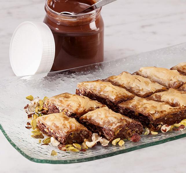 Nutella Baklava Athens Foods