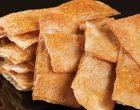 after-school snacks - phyllo chips