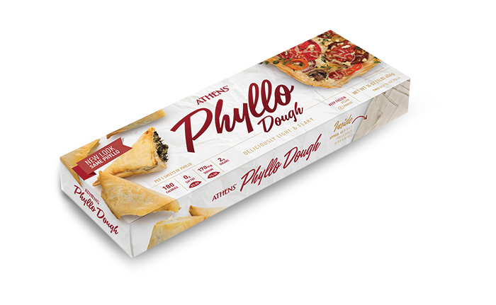 Athens® Phyllo Dough Twin Pack Package