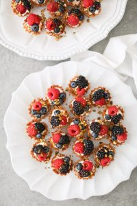 easy berry tartlets - plated
