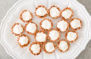 easy berry tartlets - filling