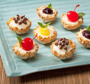 phyllo shells petite cheesecake cups