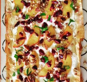 RICOTTA HONEY PHYLLO TART - ATHENS FOODS