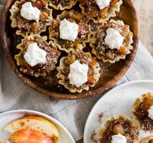 Vanilla Bean Apple Pie Bites