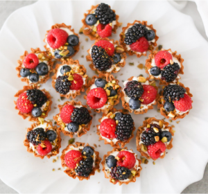 best of 2019 - easy berry tartlets - athens phyllo shells