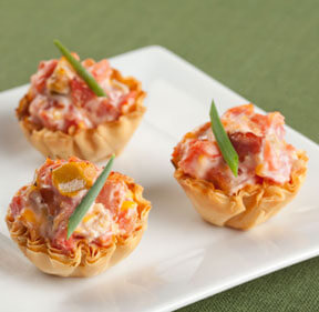best of 2019 - phyllo rotel cups