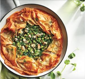 skillet spanakopeata - 10 spring side dishes