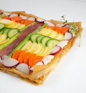 spring mosaic tart - 10 spring side dishes