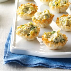 artichoke phyllo cups - 10 spring side dishes