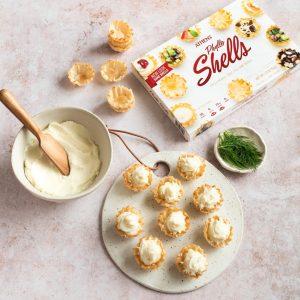 garlic mashed potato tarts how-to