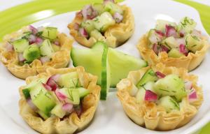 Vegan Friendly Recipe - Balsamic Cucumber Canapes